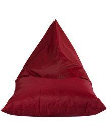 tetra polyester triangle bean bag