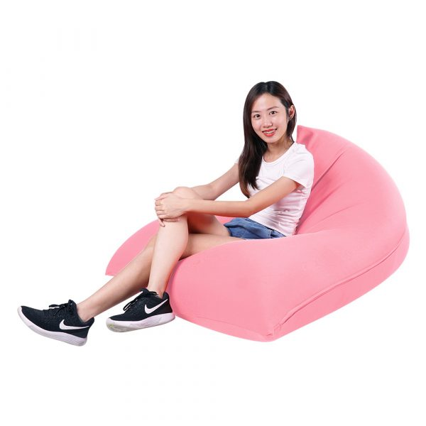 Tetzzz - spandex lounger bean bag singapore