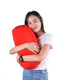 hugzzz mini bolster cushion